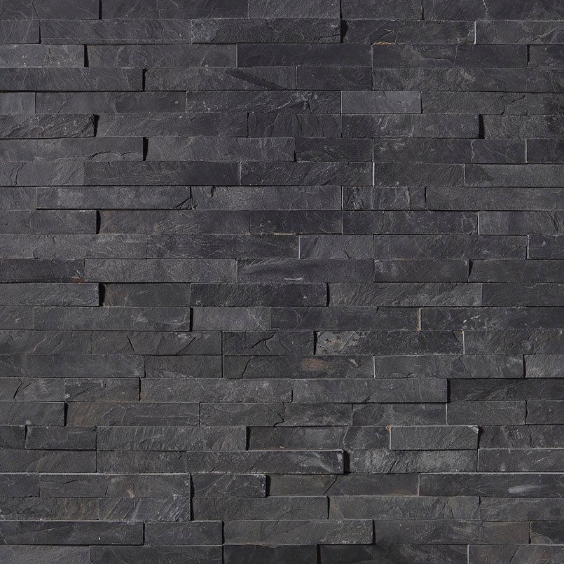 STACKED STONE – ROCKMOUNT, Tiles and Flooring tiles-and-flooring-premium-black-slate-6x24-panel-LPNLSPREBLK624