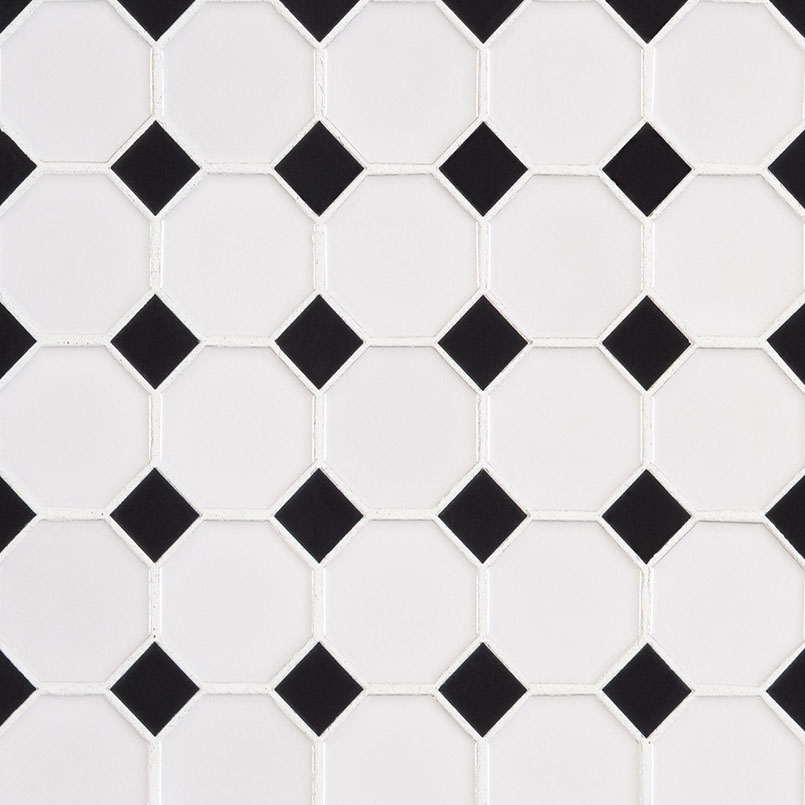 DECORATIVE MOSAICS, Tiles and Flooring msi-tiles-flooring-retro-octagon-bianco-SMOT-PT-RETBIA-2OCTG