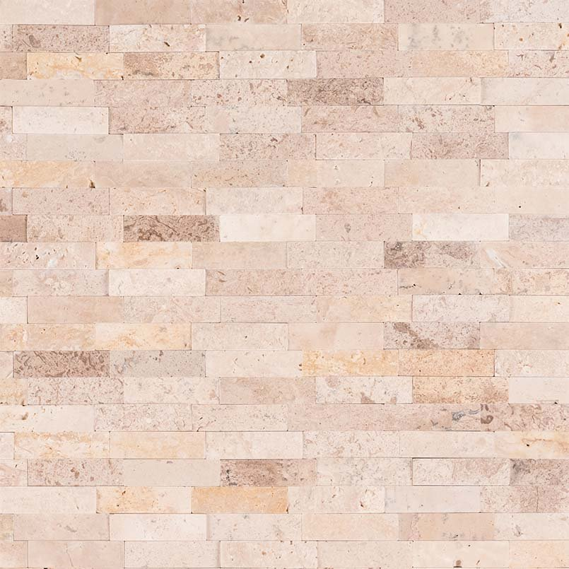 DECORATIVE MOSAICS, Tiles and Flooring msi-tiles-flooring-roman-beige-splitface-peel-and-stick-SMOT-PNS-RBSF-6MM
