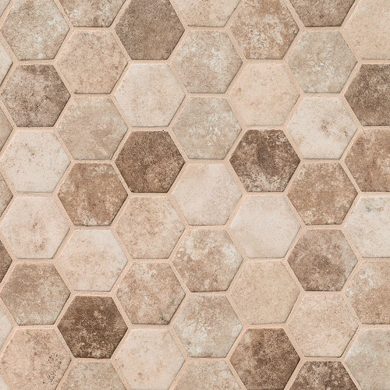DECORATIVE MOSAICS, Tiles and Flooring msi-tiles-flooring-sandhills-hexagon-SMOT-GLS-SAND6MM