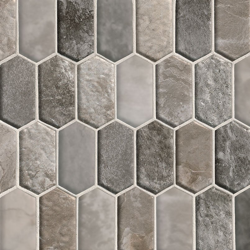 DECORATIVE MOSAICS, Tiles and Flooring msi-tiles-flooring-savoy-picket-pattern-SMOT-GLSPK-SAVOY8MM