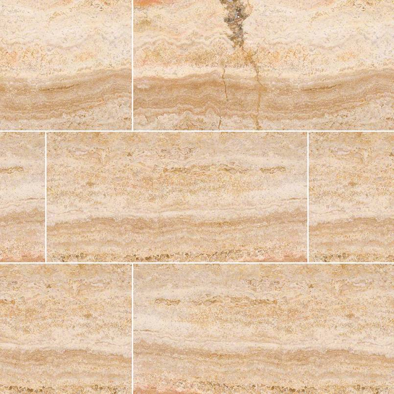 NATURAL STONE TRAVERTINE COLLECTIONS, Tiles and Flooring msi-tiles-flooring-tuscany-scabas-vein-cut-12x24-TTSCABVC1224HF
