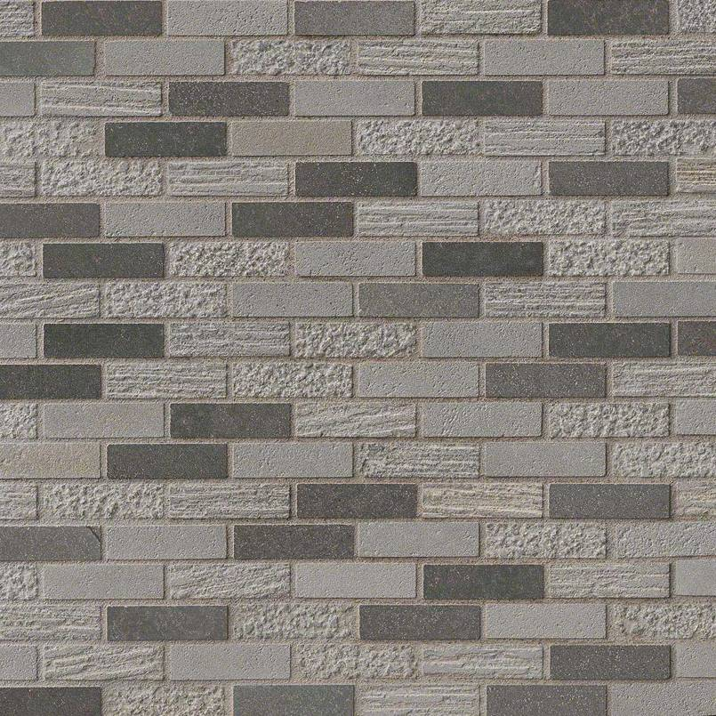 DECORATIVE MOSAICS, Tiles and Flooring msi-tiles-flooring-shale-mixed-finish-SMOT-BSLTB-5/8X2MF