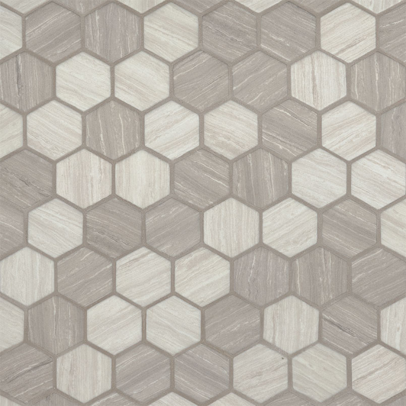 DECORATIVE MOSAICS, Tiles and Flooring msi-tiles-flooring-silva-oak-2-hexagon-SMOT-GLS-SILVA6MM