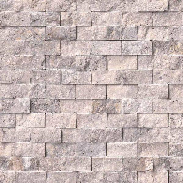 Tile Samples msi-tiles-flooring-silver-travertine-1x2-splitface-mosaic-SMOT-SILTRA-1X2SF