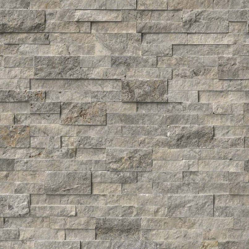 STACKED STONE – ROCKMOUNT, Tiles and Flooring tiles-and-flooring-silver-travertine-6x24-panel-LPNLTSIL624