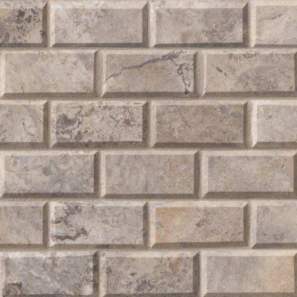 Tile Samples msi-tiles-flooring-silver-travertine-2x4-mosaic-SMOT-SILTRA-2x4HB