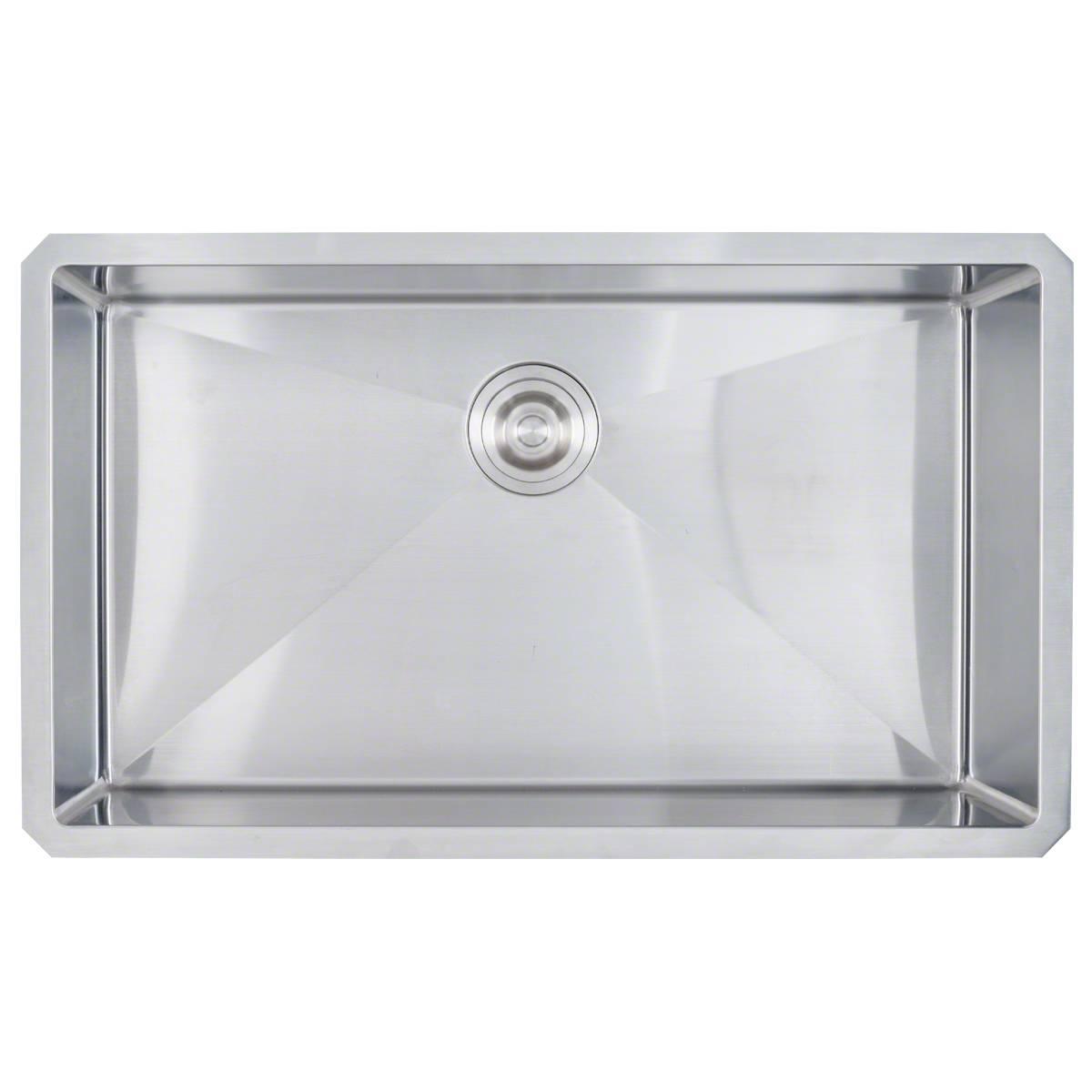 Sinks -ss-16-gau-handcrafted-single-bowl-3219-SIN-16-SINBWL-WEL-3219