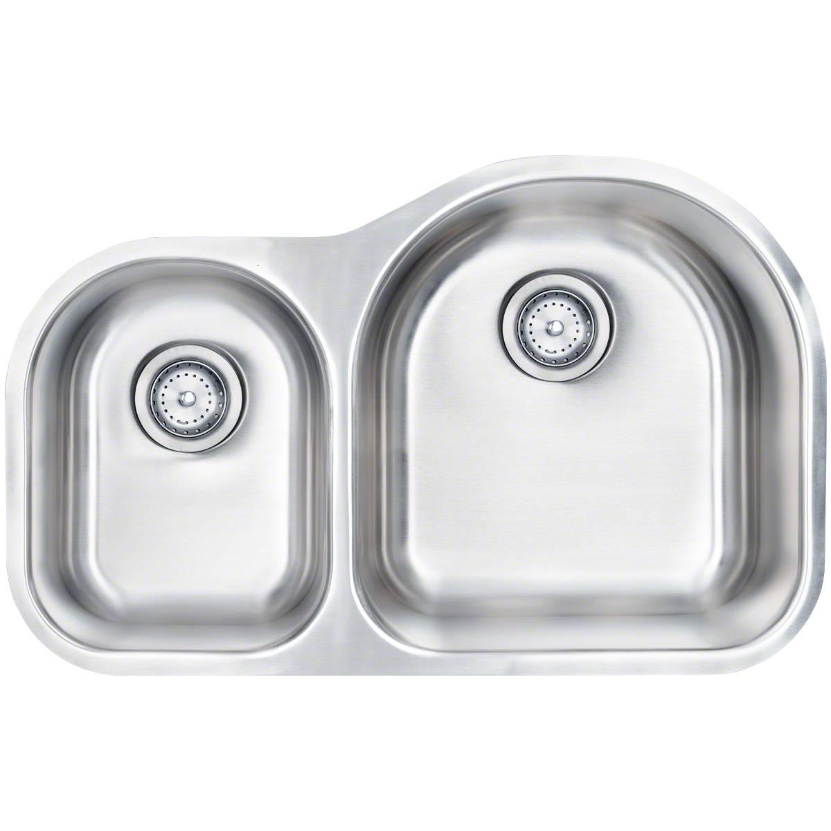 Sinks -ss-18-gau-double-bowl-40-60-3120-SIN-18-DBLBWL-4060-3120