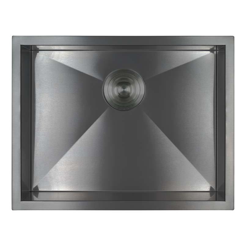 Sinks -ss-16-gau-handcrafted-single-bowl-2318-SIN-16-SINBWL-WEL-2318