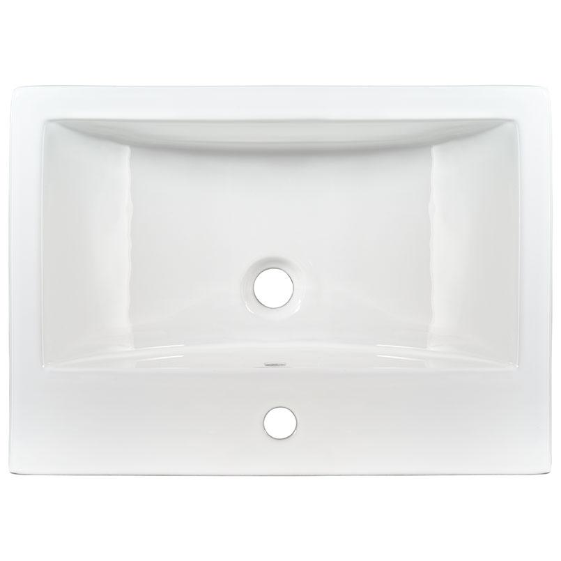 Sinks -porcelain-overmount-white-rectangle-2417-SIN-POR-VOMRECWHT-2417