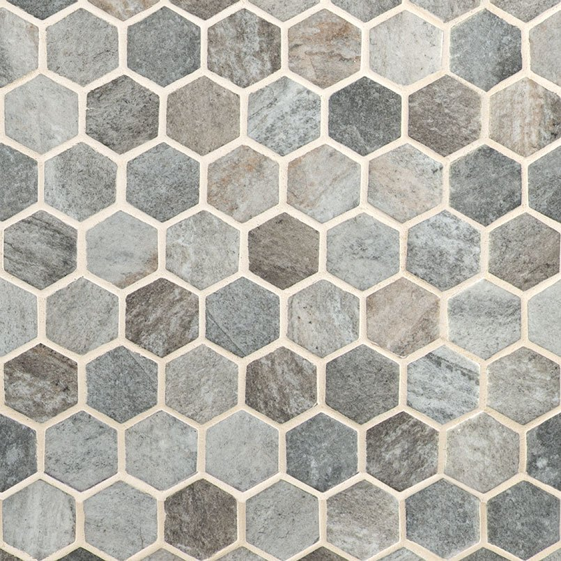 DECORATIVE MOSAICS, Tiles and Flooring msi-tiles-flooring-stonella-hexagon-SMOT-GLS-STNELA6MM