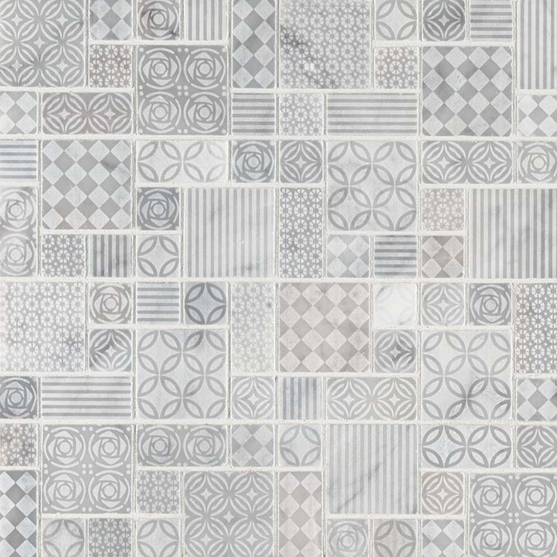 DECORATIVE MOSAICS, Tiles and Flooring msi-tiles-flooring-tetris-blanco-mosaic-SMOT-TETBLA-10MM