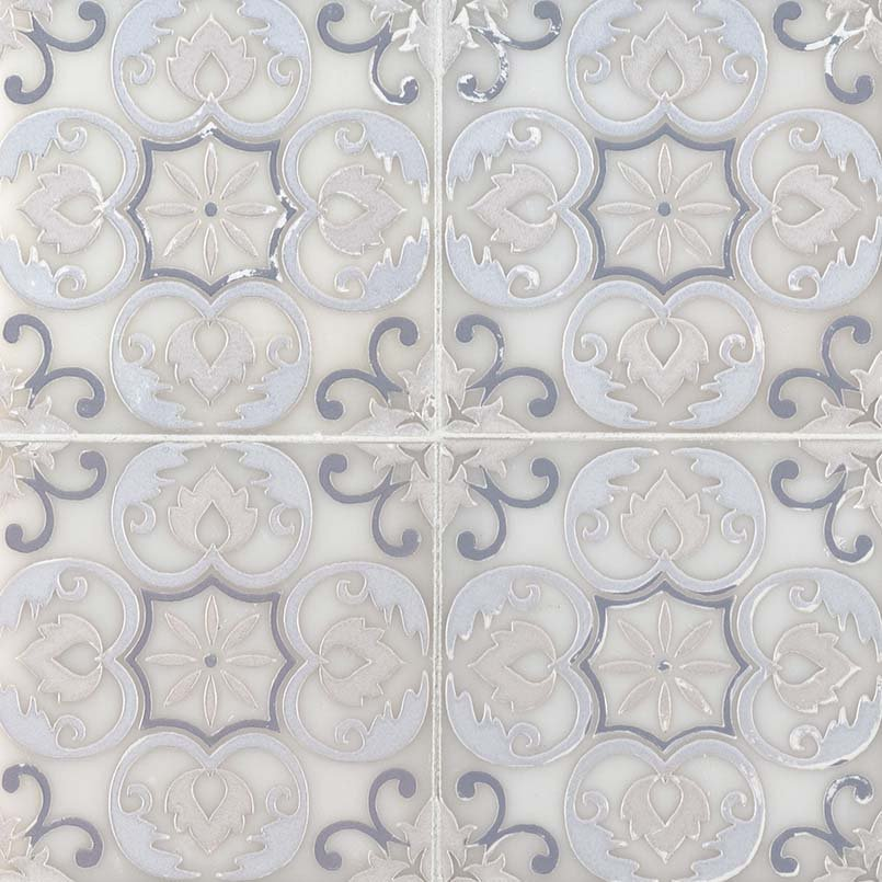 DECORATIVE MOSAICS, Tiles and Flooring msi-tiles-flooring-tetris-florita-blanco-TTETBLANCO66