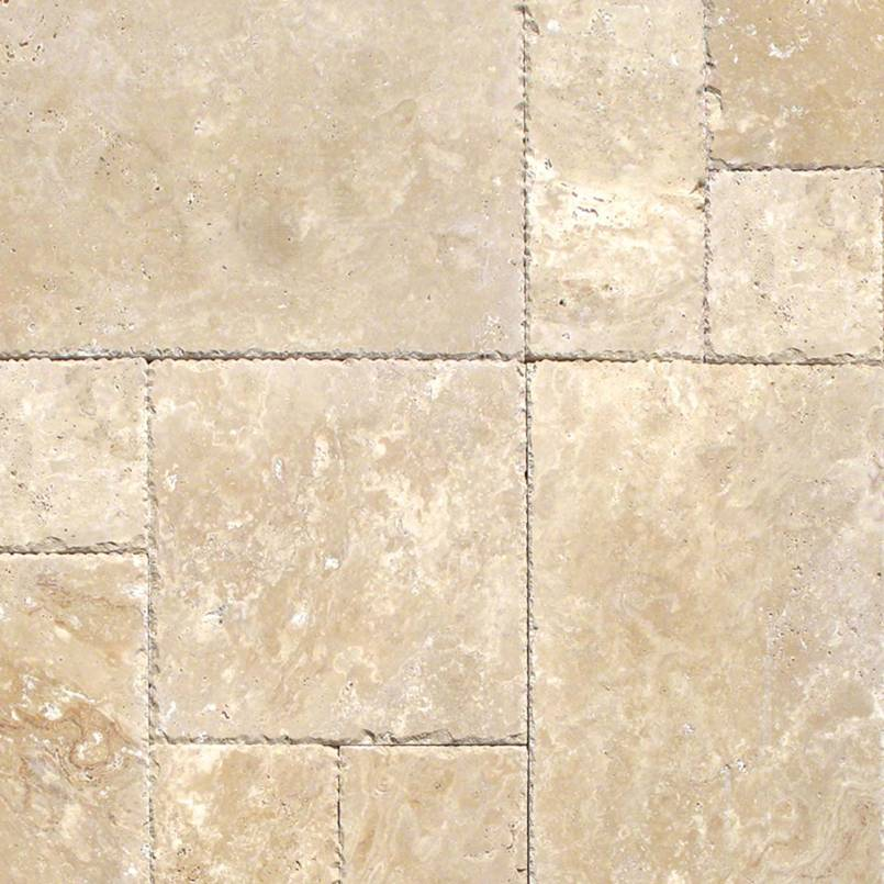 NATURAL STONE TRAVERTINE COLLECTIONS, Tiles and Flooring tiles-and-flooring-tuscany-beige-versailles-hf-pattern-TTBEIG-PAT-HF