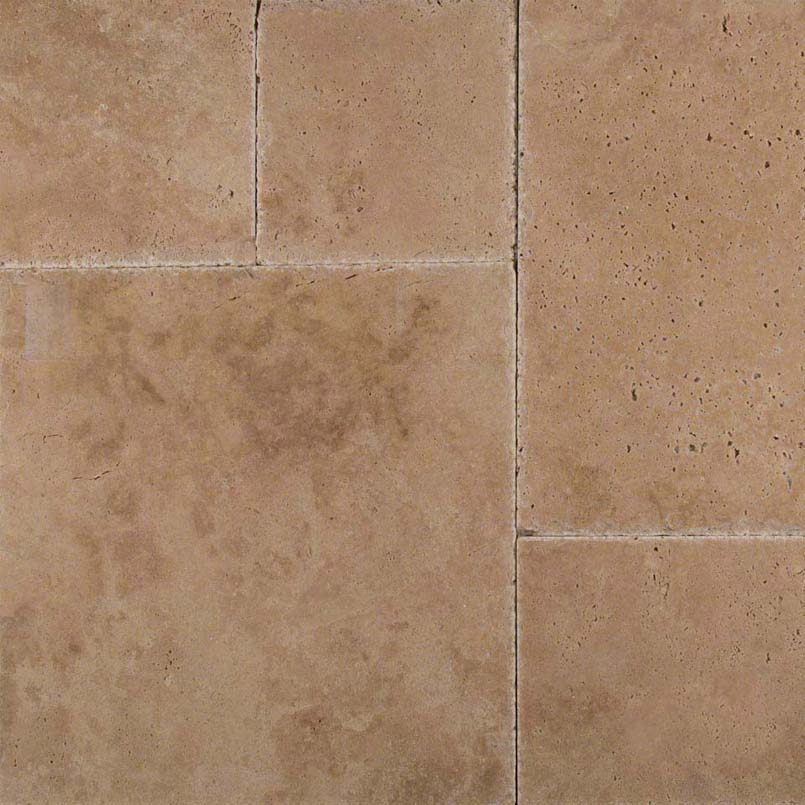 NATURAL STONE TRAVERTINE COLLECTIONS, Tiles and Flooring msi-tiles-flooring-tuscany-hazelnut-versailles-pattern-TTHAZLNT-PAT-HUCB