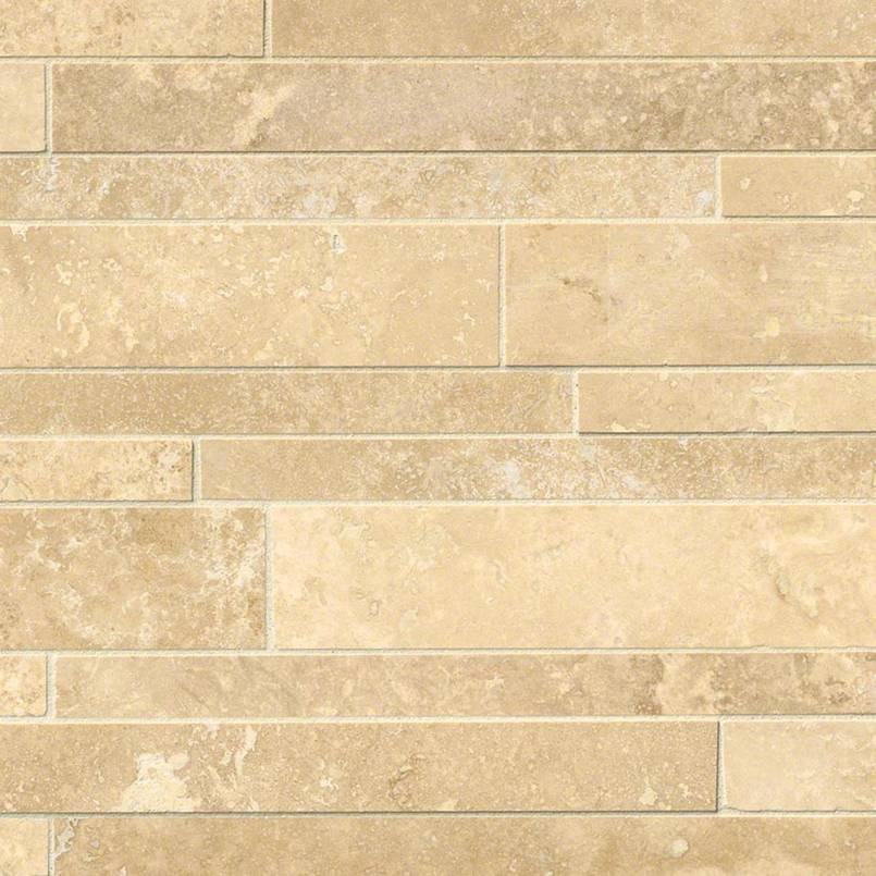 NATURAL STONE TRAVERTINE COLLECTIONS, Tiles and Flooring msi-tiles-flooring-ivory-travertine-interlocking-mosaic-SMOT-IVO-IL12X18H