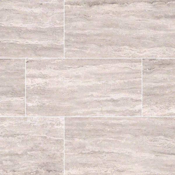 PORCELAIN FLOOR TILES, Tiles and Flooring msi-tiles-flooring-pietra-venata-white-3x18-bull-nose-NPIEVENWHI3X18BNP