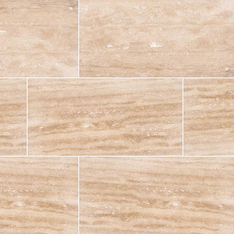 NATURAL STONE TRAVERTINE COLLECTIONS, Tiles and Flooring msi-tiles-flooring-tuscany-walnut-vein-cut-12x24-TTWALVC1224HF