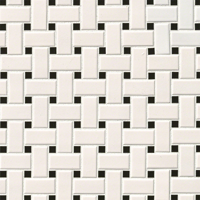 DECORATIVE MOSAICS, DOMINO COLLECTION, Tiles and Flooring msi-tiles-flooring-white-and-black-basket-weave-NWHIBASWEA