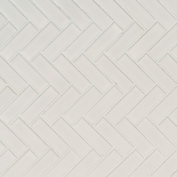 DECORATIVE MOSAICS, DOMINO COLLECTION, Tiles and Flooring msi-tiles-flooring-white-glossy-herringbone-NWHIHBG