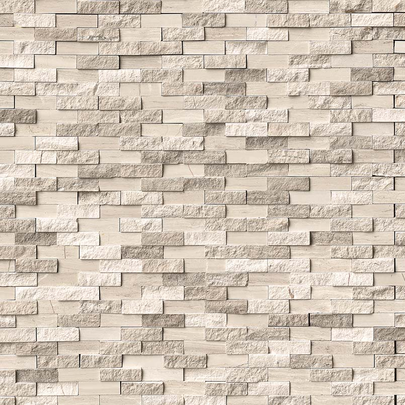 NATURAL STONE MARBLE COLLECTIONS, Tiles and Flooring msi-tiles-flooring-white-oak-splitface-mosaic-SMOT-WHTOAK-SFIL10MM