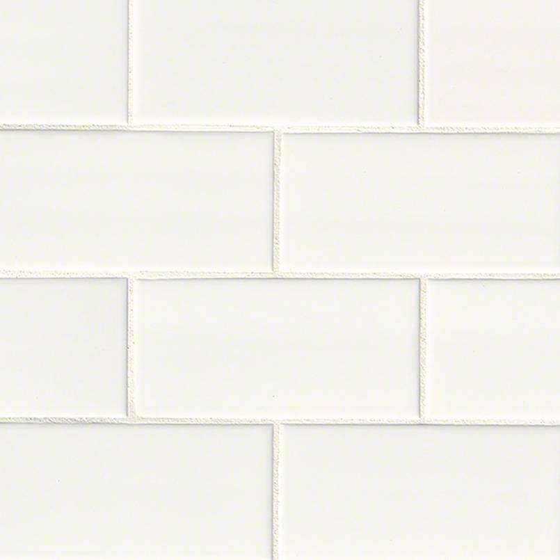 DECORATIVE MOSAICS, DOMINO COLLECTION, Tiles and Flooring msi-tiles-flooring-white-glossy-3x6-NWHIGLO3X6
