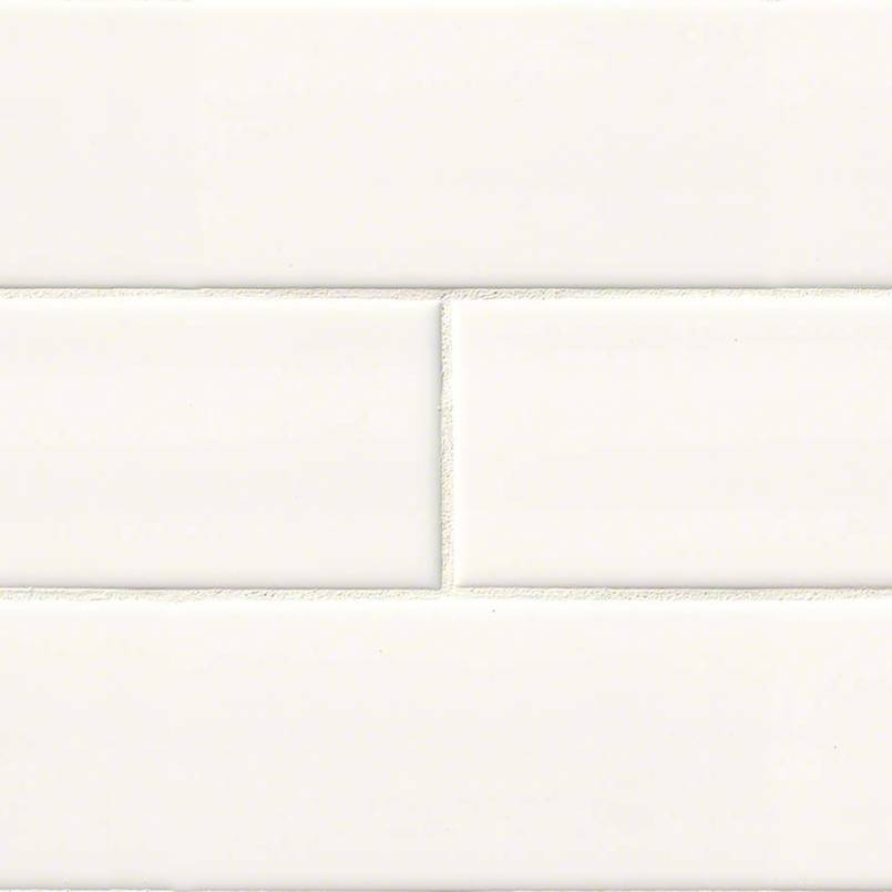 DECORATIVE MOSAICS, DOMINO COLLECTION, Tiles and Flooring msi-tiles-flooring-white-glossy-4x16-NWHIGLO4X16