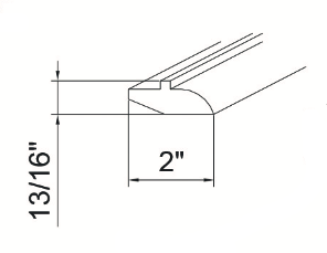 Cabinets, GHI Richmond Auburn bathroom-cabinets-ghi-richmond-auburn-light-rail-molding-GLRMS7-RMA