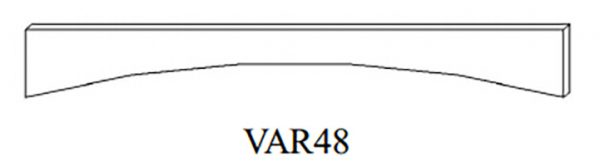 Cabinets, Linen White -ghi-linen-white-valance-GVAR48-LW