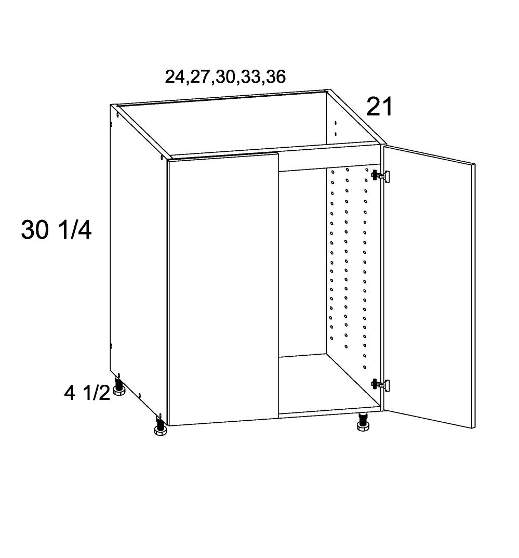 US Cabinet Depot Riviera Conch Shell, Vanities bathroom-cabinets-us-cabinet-depot-verona-midnight-navy-full-height-double-door-vanity-sink-base-36w-x-21d-x-34-3-4h-VMN-VSB36FH