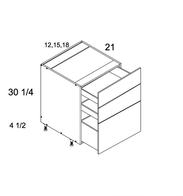 US Cabinet Depot Torino Grey Wood, Vanities bathroom-cabinets-us-cabinet-depot-palermo-gloss-white-three-drawer-vanity-base-blum-18w-x-21d-x-34-3-4h-PGW-3VDB18-BLUM