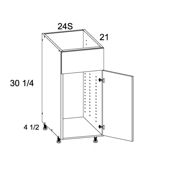 US Cabinet Depot Riviera Conch Shell, Vanities bathroom-cabinets-us-cabinet-depot-verona-midnight-navy-vanity-sink-base-false-front-one-door-24w-x-21d-x-34-3-4h-VMN-VSB24S