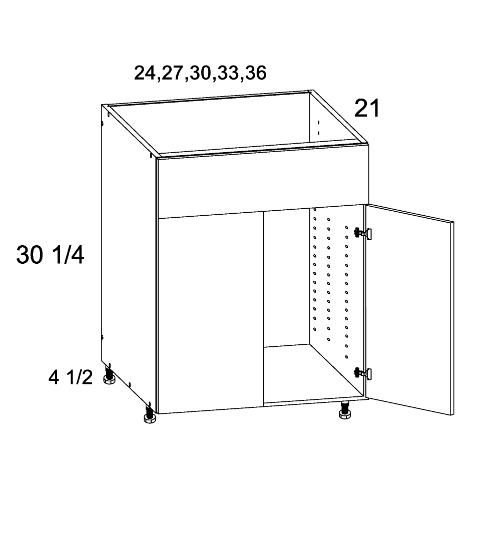 US Cabinet Depot Riviera Conch Shell, Vanities bathroom-cabinets-us-cabinet-depot-verona-midnight-navy-vanity-sink-base-false-front-two-door-36w-x-21d-x-34-3-4h-VMN-VSB36